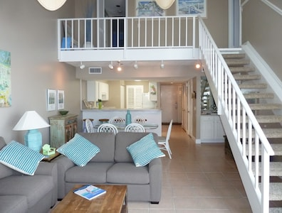 Living Room and Stairway
