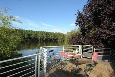 Plage de Rochefort, Rochefort-sur-Loire, Maine-et-Loire, France