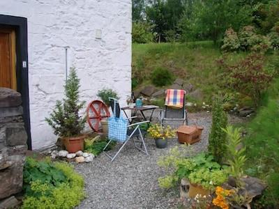 Outside Lui Cottage