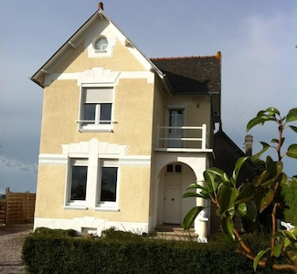 Façade de la villa plein sud