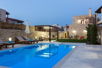 Stone built villa with private pool and great outdoor area!
