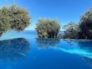 Infinity pool - variations in blue!