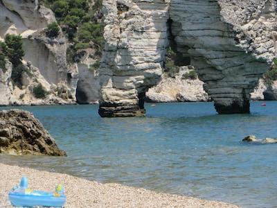 Baia di Campi, Vieste, Puglia, Italy