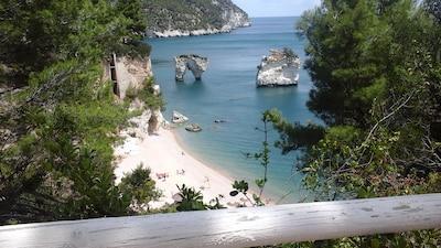 Baia dei Mergoli o delle Zagare - Sud, Mattinata, Puglia, Italy