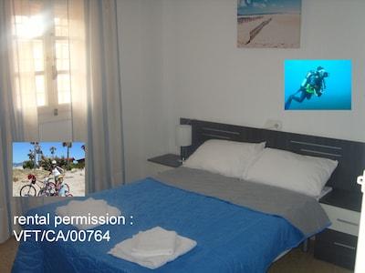 habitacion doble con Rooms Bike And Dive