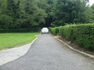 The drive into the cottage