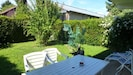 Jardin exposée sud ouest hyper calme
