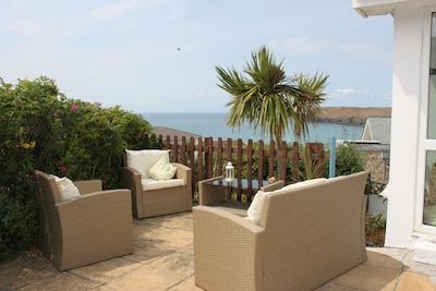 Holiday House With Fantastic Sea and Beach Views Higher Tristram, Polzeath