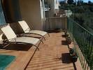 la terrasse pour détente dans le calme et la beauté du site