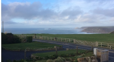 Wonderful 3 bedroom contemporary family home with amazing views over Sennen Cove
