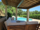 Shaded Pool House