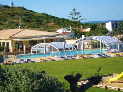 Pool, Gardens, Restaurant