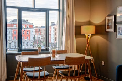 Clean, modern design apartment in the beating heart of Dublin City