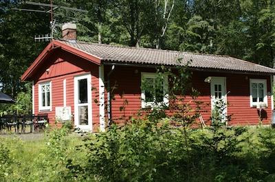 Station de ski de Vallasen, Våxtorp, Comté de Halland, Suède