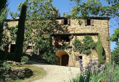 arrival at Casa Fontemaggio