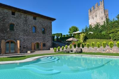 Neptune Fountain, Trento, Trentino-Zuid-Tirol, Italië