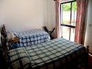 A bedroom in the Villa