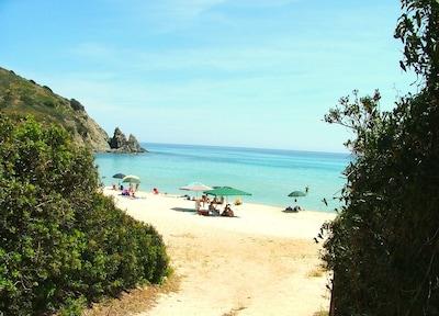 Spiaggia di Cristolu Axedu, Muravera, Sardinia, Italy