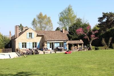 Jambville, Yvelines Département, Frankreich