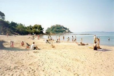The beach at Cabasson.