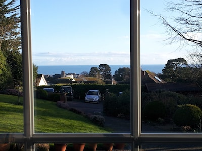 A view from the studio in February