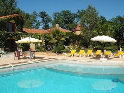 Onze mooie villa met zwembad