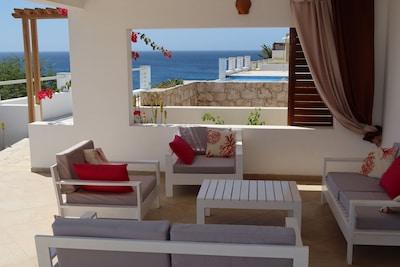 Casa Amarela et sa piscine