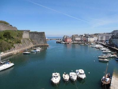 Port Saint-Julien, Le Palais, Morbihan, France