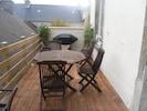 terrasse plein sud toute équipée  avec barbecue