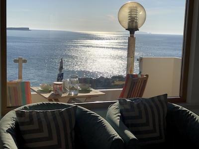 Living room panoramic  window