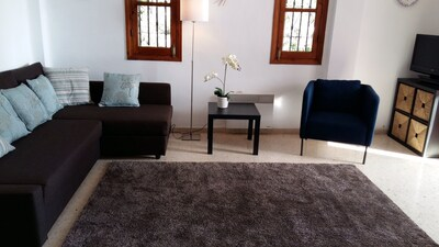 Comfortable and spacious lounge.
