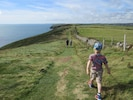 Access to the coastal path is a short walk from the cottage.