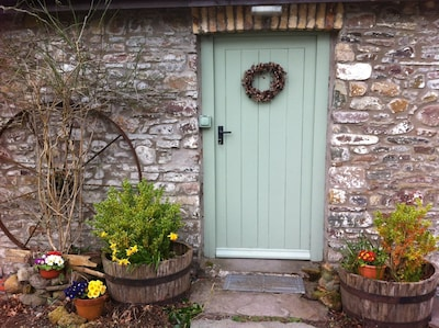 The Front Door of the Cottage