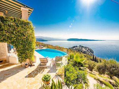 Pantokrator (Höchster Berg auf Korfu), Korfu, Region der Ionischen Inseln, Griechenland