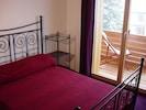 Chambre Érable, avec balcon