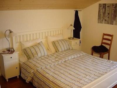 Chambre Bouleau, avec balcon et salle de bain