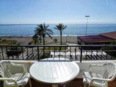 Rincon De La Victoria: apartamento  en primera linea de playa en el Rincon de la Victoria