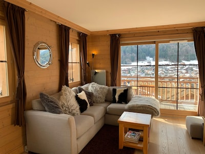 Skilift van Super Morzine, Morzine, Haute-Savoie (departement), Frankrijk