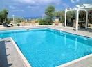 piscine, vue mer