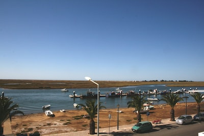 View from the Bedroom Terrace overlooking the Ria Formosa