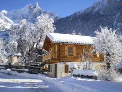Telesquí Les Praz-La Flégère, Chamonix-Mont-Blanc, Alta Saboya (departamento), Francia