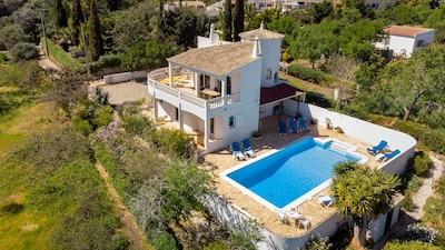 Casa Alimas - aerial view