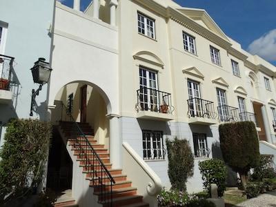 Old Village 2 Bed apartment on two floors plus roof terrace. Vilamoura Algarve