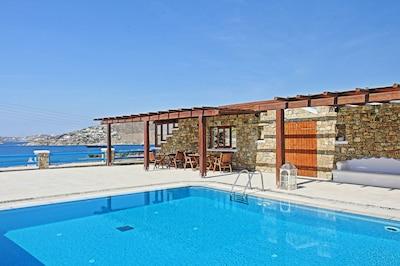 Platis Gialos Beach, Mykonos, South Aegean, Greece