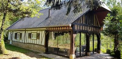 Maison vue du portail