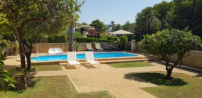 HOUSE WITH POOL 100 meters from the beach with A / A, in Costa Calma, CALVIA, MALLORCA
