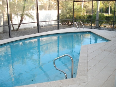 Screen enclosed private pool