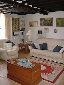 Very English comfortable living room
