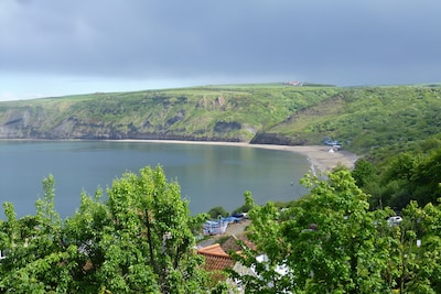 Runswick Bay is a holiday paradise ideal for beach, walking or simply chilling.