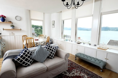 Amazing views, minutes to Rothesay town centre, ideal for families and couples